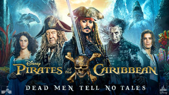 Netflix box art for Pirates of the Caribbean: Dead Men Tell...